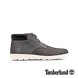 Timberland 男款灰色磨砂革休閒短靴 A1VLB