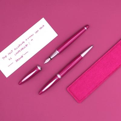2月限定買鋼筆送原子筆- ARTEX開心雙筆組-碧昂絲