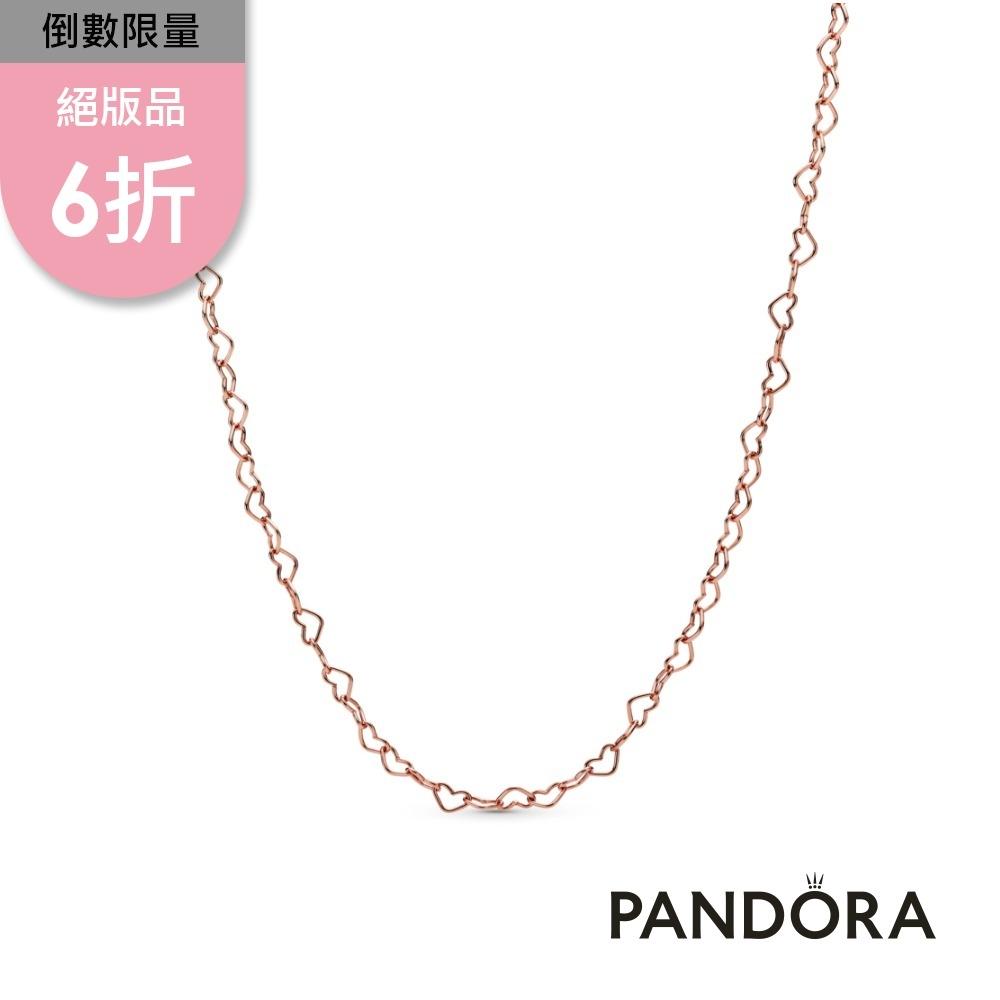 【Pandora官方直營】心心相連項鏈