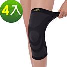 成優X static美國銀纖維奈米遠紅外線減壓護膝-4入(成優國際肢體裝具)