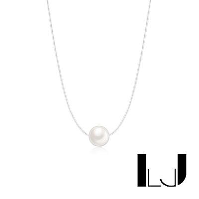 Little Joys 旅美原創設計品牌 質感細線淡水珍珠項鍊 925銀