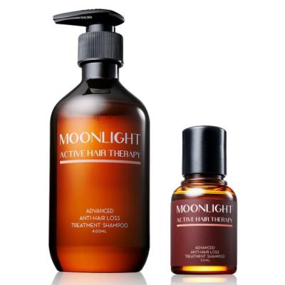 (買大送小) Moonlight 莯光 3%進化版健髮豐潤洗髮精 400mL+50mL