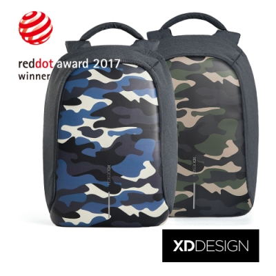 XDDESIGN BOBBY COMPACT 迷彩特製款安全防盜後背包(桃品國際公司貨)