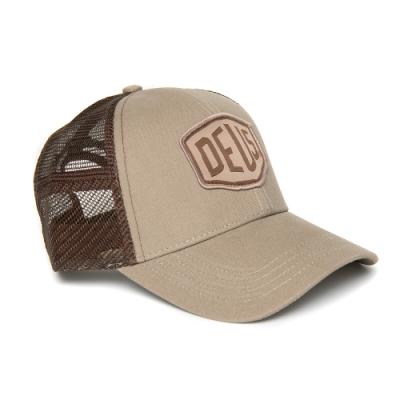Deus Ex Machina Woven Shield Trucker棒球帽 - 卡其