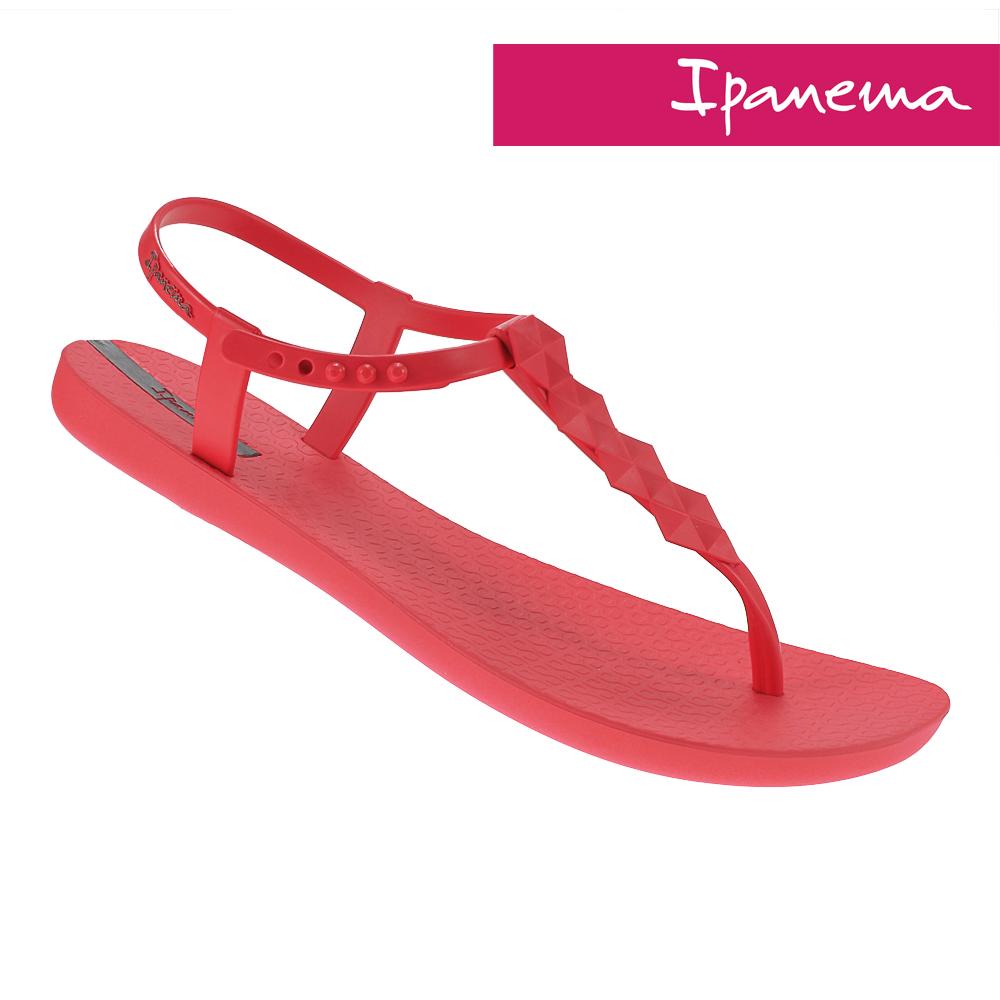 IPANEMA 典雅原色T字涼鞋-粉色