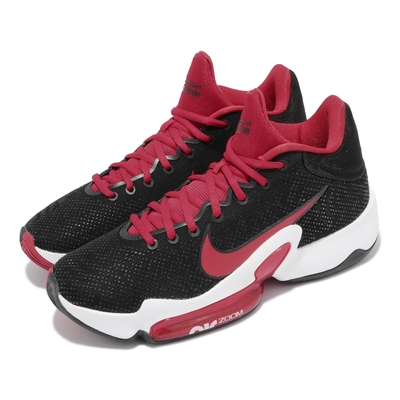 Nike 籃球鞋 Zoom Rize 2 運動 男鞋 海外限定 氣墊 舒適 避震 包覆 支撐 黑 紅 CT1495003