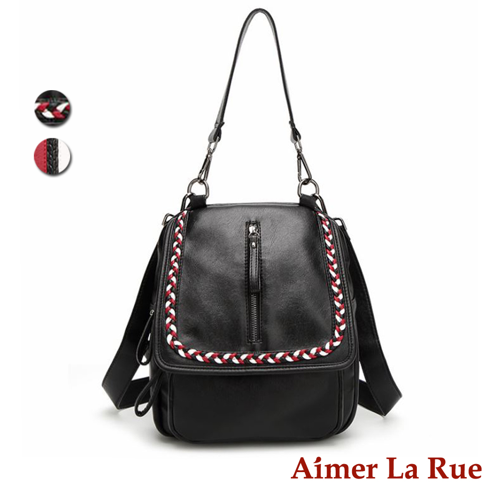 Aimer La Rue 維多利亞兩用後背包-編織款(快) @ Y!購物