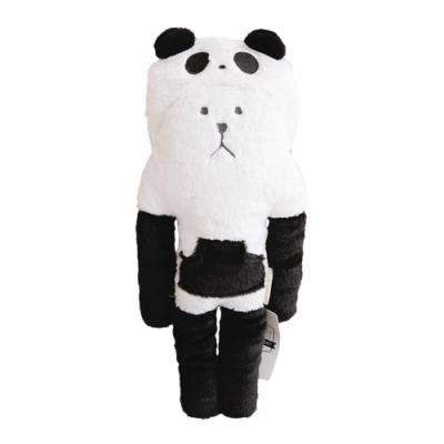 CRAFTHOLIC 宇宙人 黑熊貓熊熊小抱枕