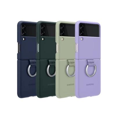 SAMSUNG Galaxy Z Flip3 5G 原廠矽膠薄型背蓋 ( 附指環扣 )