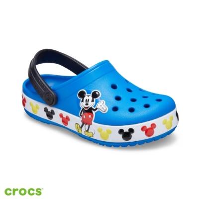 Crocs卡駱馳 (童鞋) 趣味學院迪士尼米奇小克駱格 206307-4JL
