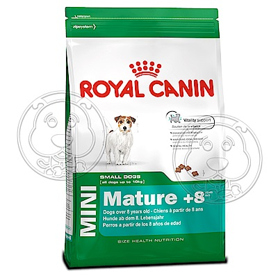 法國皇家PR+8《小型高齡犬》飼料-2kg
