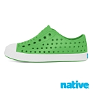 native 小童鞋 JEFFERSON 小奶油頭鞋-蚱蜢綠x貝殼白