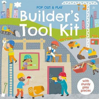 Pop Out&Play:Builder s Tool Kit 建築師的工具遊戲拼圖書