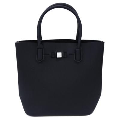 SAVE MY BAG 義大利品牌 POPSTAR系列 黑色超輕量手提水桶包
