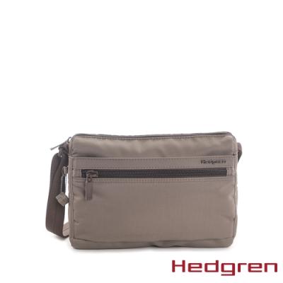 【Hedgren】棕多夾層收納斜背包 – HIC176 EYE