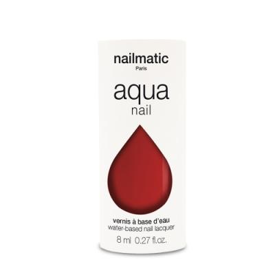法國 Nailmatic 水系列經典指甲油 - Airelle 朱紅 - 8ml