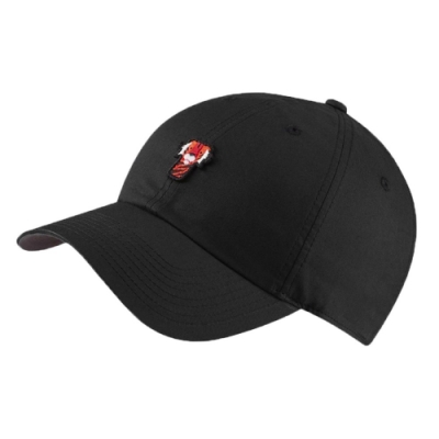 Nike 帽子 Heritage 86 Frank 男女款 高爾夫球帽 遮陽 快乾 穿搭 老虎伍茲 黑 橘 BQ1309010