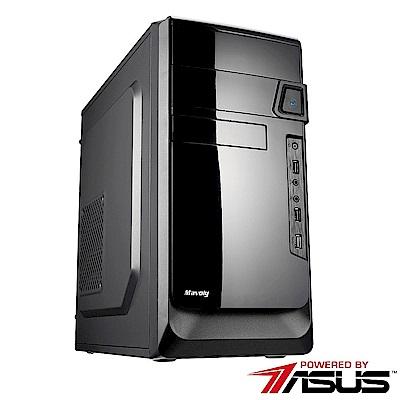 華碩B450平台[寒冰戰艦]R7八核GTX1050TI獨顯電玩機