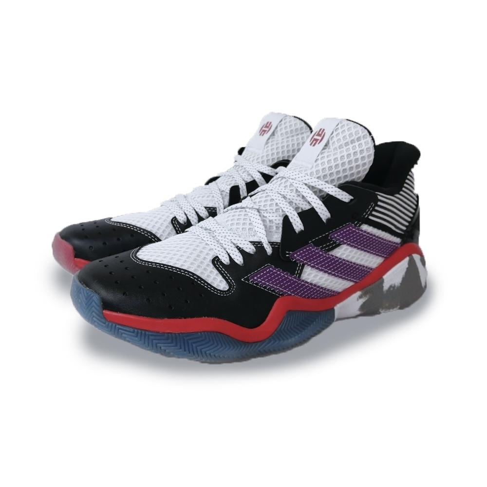 adidas 籃球鞋 運動 哈登 大鬍子 NBA球星  男鞋 黑 紫 EH1995 Harden Step-Back
