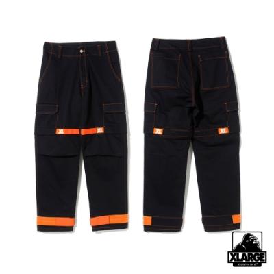 XLARGE ADJUSTABLE CARGO PANTS 工作長褲-黑