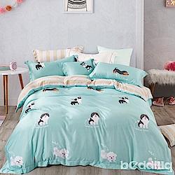 BEDDING-3M專利+頂級天絲-兒童專用涼被枕頭組-追夢
