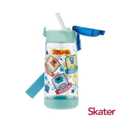 Skater 吸管水壺(480ml)PET 鐵道王國