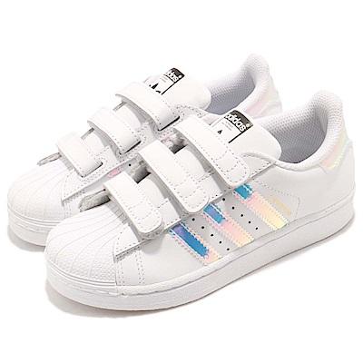 adidas 休閒鞋 Superstar CF C 童鞋