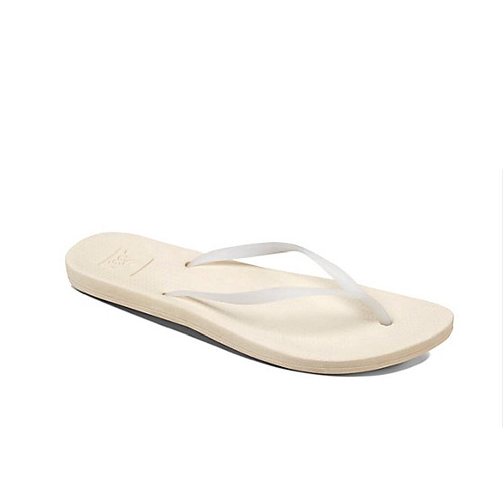 REEF 拖鞋 人體工學 超Q彈橡膠 橡膠夾腳拖 人字拖 白 女款 RF0A2YFKLAN