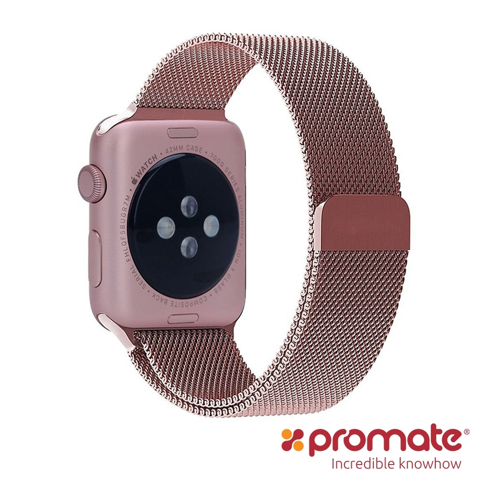 Promate Apple Watch 42/44mm 高質感金屬錶帶Milous product image 1