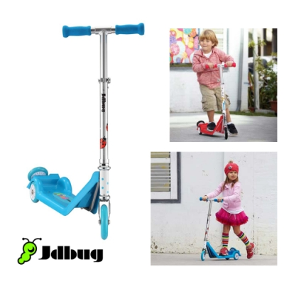 【Jdbug】 兒童三輪滑板車TC11 藍色
