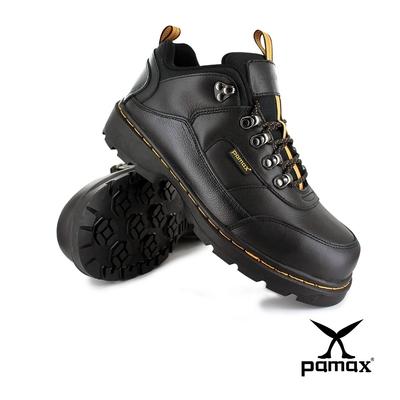 PAMAX帕瑪斯【帥氣馬丁安全工作靴】PW00101FEH-頂級氣墊-新型專利底-反光設計