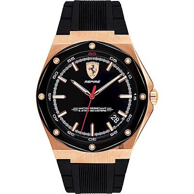 Scuderia Ferrari 法拉利 奔馳再勝手錶(FA0830553)-42mm