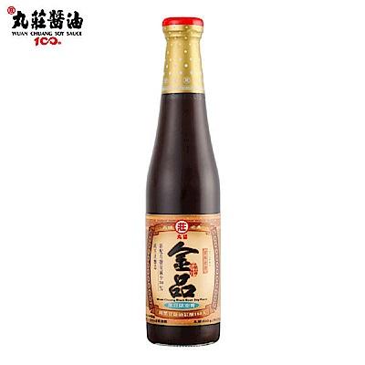 丸莊 金品黑豆蔭油膏500g/瓶 (共2瓶)