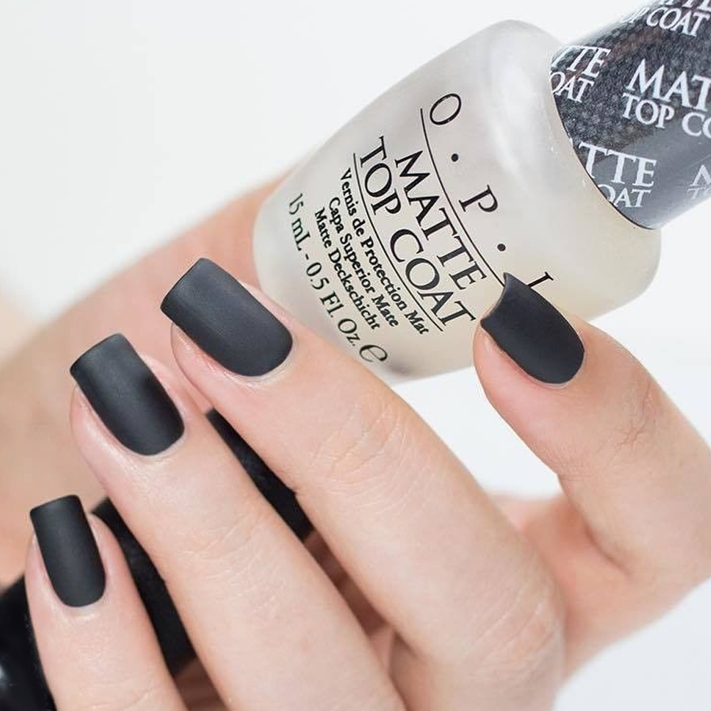 OPI 官方直營.Matte Top Coat 薄霧森林霧面護甲油(15mL)-NTT35 product image 1