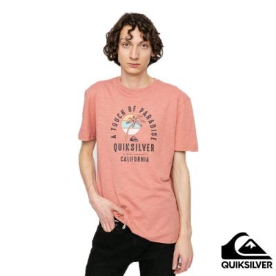 【QUIKSILVER】QUIET HOUR SS T恤 粉紅