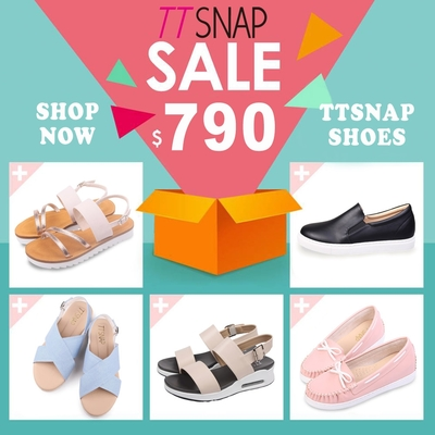 [時時樂限定]TTSNAP百搭休閒鞋/涼鞋限時搶購均一價790