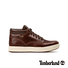 Timberland 男款中棕色全粒面革防水休閒鞋|A2BN5