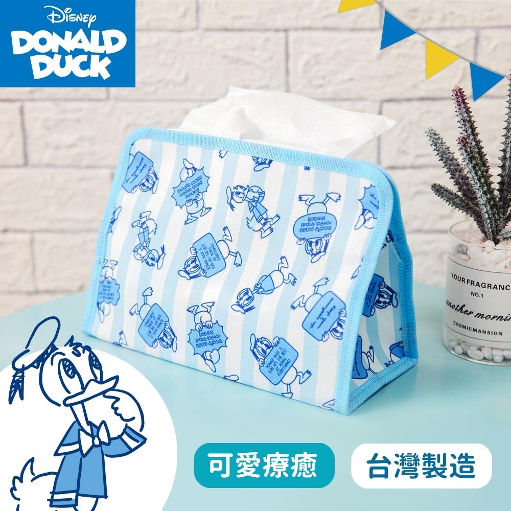 【收納皇后】Disney迪士尼唐老鴨-布藝面紙套/收納盒/衛生紙/面紙盒/台灣製