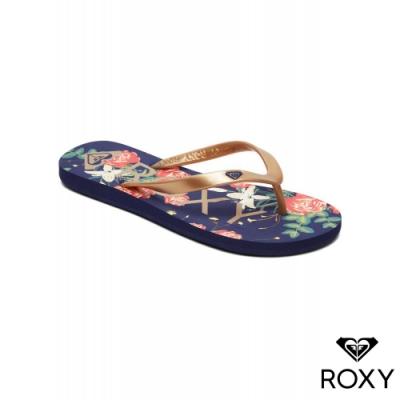 【ROXY】TAHITI VI 夾腳拖 藍