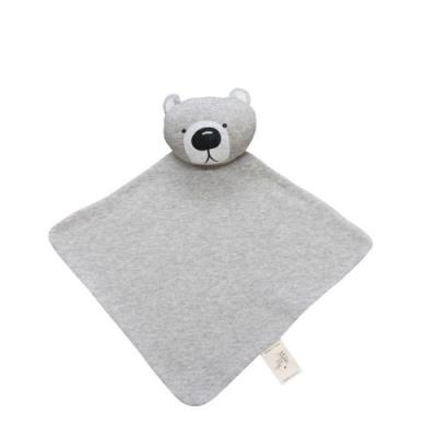 澳洲Mister Fly嬰幼兒安撫巾-灰色小熊