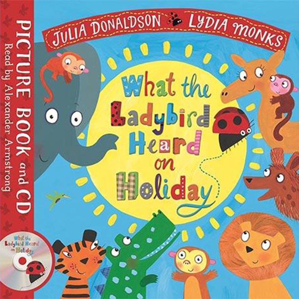 What The Ladybird Heard On Holiday 平裝繪本CD書