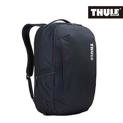 THULE-Subterra 34L商旅兩用雙層筆電背包TSTB-334-礦藍