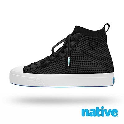 native JEFFERSON 2.0 高筒男/女鞋-時尚黑