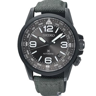 SEIKO 精工 PROSPEX 空全方位飛行機械錶(SRPC29J1)灰/42mm