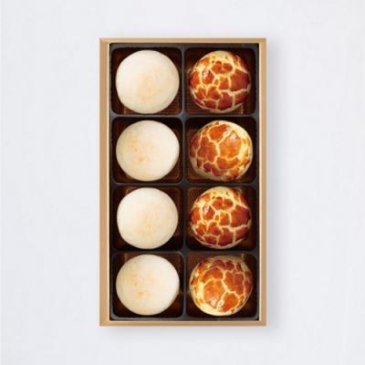 陳允寶泉 小二味禮盒(小月餅4+蛋黃酥4)