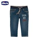 chicco- 幾何世界-伸縮牛仔長褲