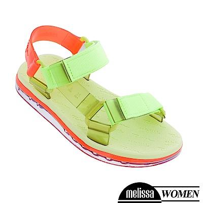 Melissa x Rider 潮流休閒涼鞋-螢光綠
