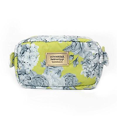 VOVAROVA空氣包-裝不滿化妝包-花漾 • 黃
