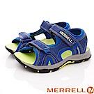 MERREL頂級童鞋 戶外運動涼鞋款 TW61236藍色(中大童段)