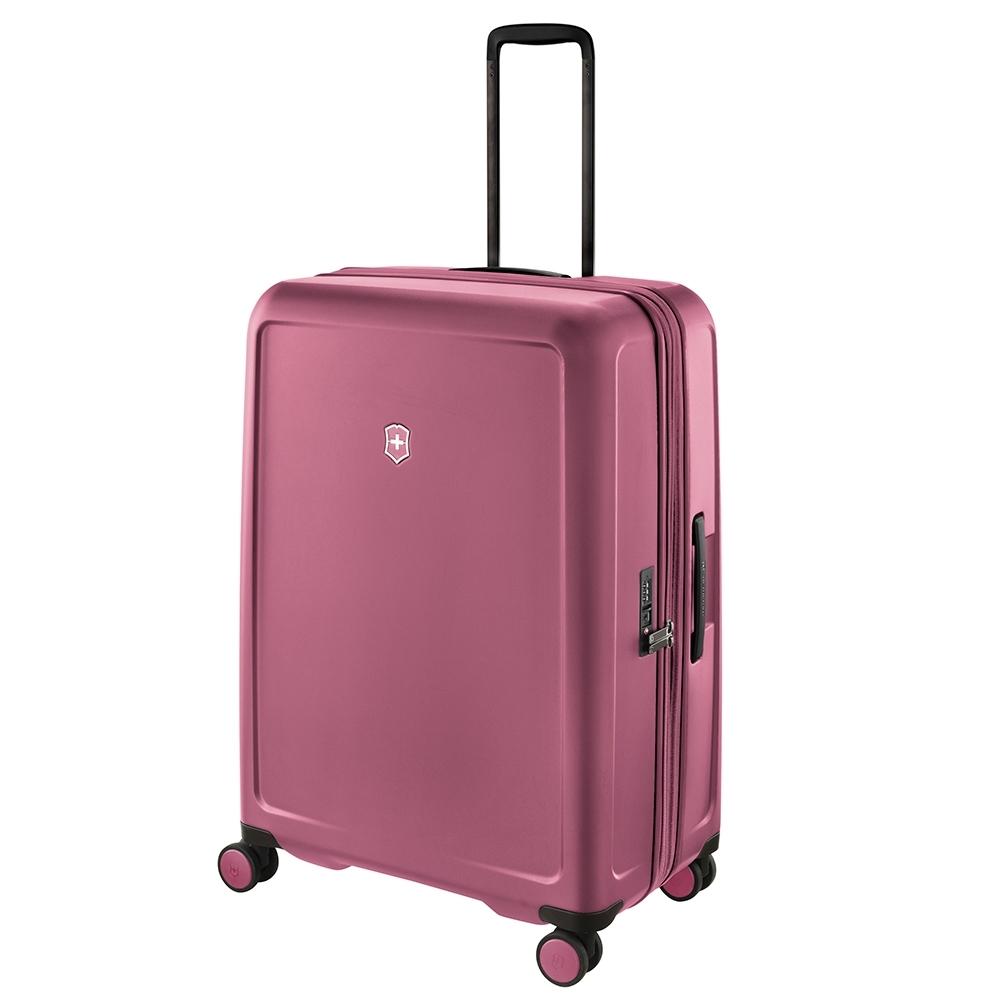 VICTORINOX 瑞士維氏CONNEX 可擴充29吋硬殼行李箱-櫻花粉 610492
